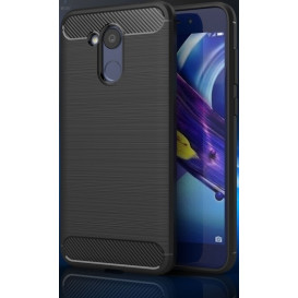 Накладка Ipaky TPU Shockproof Lasi Series для Huawei Honor 6c Pro (черного цвета)