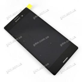 Дисплей Sony E2303 Xperia M4 Aqua LTE, E2306 Xperia M4 Aqua, E2312 Xperia M4 Aqua Dual, E2333 Xperia M4 Aqua Dual, E2353 Xperia M4 Aqua, E2363 Xperia M4 Aqua Dual с тачскрином, черный (Оригинал)