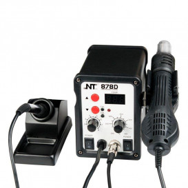 Паяльная станция NT 878D (Фен + паяльник)