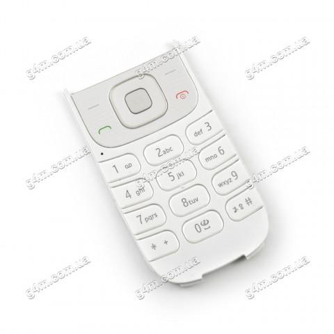 Клавиатура Nokia 3710 fold белая, Оригинал