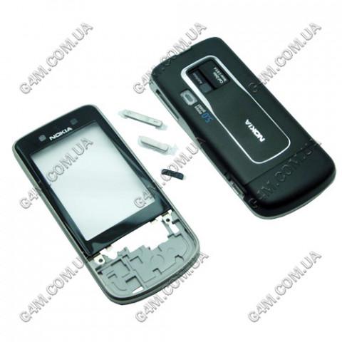 Корпус Nokia 6260 Slide черный (High Copy)