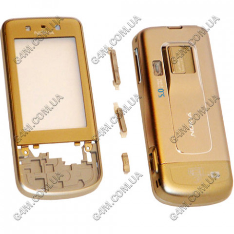 Корпус Nokia 6260 Slide серебристый (High Copy)