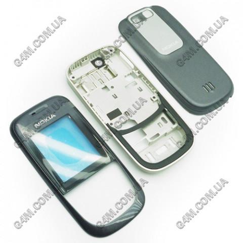Корпус Nokia 2680 slide темно-серый (High Copy)