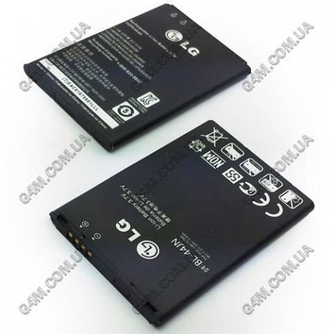 Аккумулятор BL-44JN для LG P970 Optimus, E612 Optimus L5, E615 Optimus L5 Dual, P690 Optimus Link, P698 Optimus Link Dual SIM, E400, E405, E435 Optimus L3, E510 Optimus Hub, E730 Optimus Sol, C660 Optimus Pro, E739 MyTouch, LS700 Optimus Slider, LS855 Mar