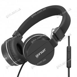 Гарнитура GORSUN GS-779 с микрофоном, черная