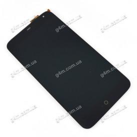 Дисплей Meizu MX3 с тачскрином, черный