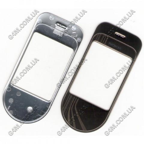 Стекло на корпус Nokia 7370 черное