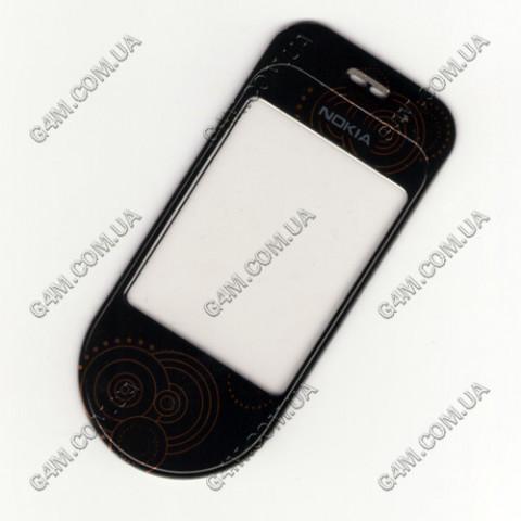 Стекло на корпус Nokia 7373 чёрное