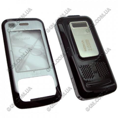 Корпус Nokia 6110 Navigator черный (High Copy)