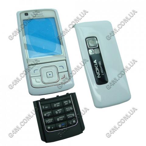 Корпус Nokia 6288 белый с клавиатурой (High Copy)