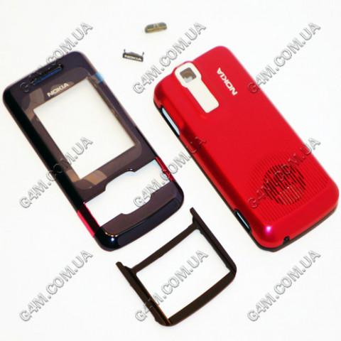 Корпус Nokia 7100 Supernova красный, High Copy