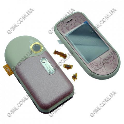 Корпус Nokia 7373 розовый (High Copy)