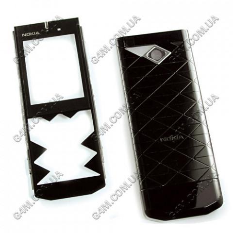 Корпус Nokia 7900 Prism чёрный, High Copy