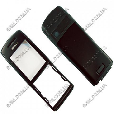 Корпус Nokia E50 черный (High Copy)