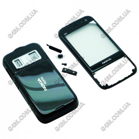 Корпус Nokia N85 черный (High Copy)