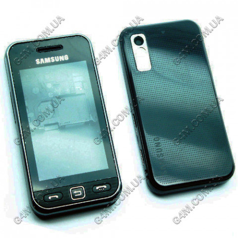Корпус Samsung S5230 черный с клавиатурой (High Copy)