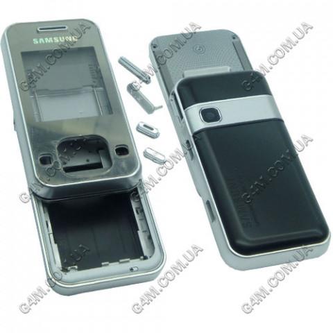 Корпус Samsung F250 черный с белым (High Copy)