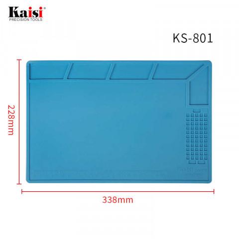 Силиконовый термостойкий коврик для пайки KS-801 (34см на 23см)