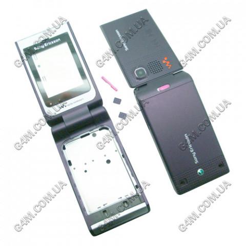 Корпус Sony Ericsson W380 фиолетовый, High Copy