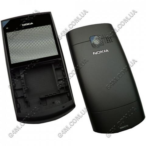 Корпус Nokia X2-01 черный (High Copy)