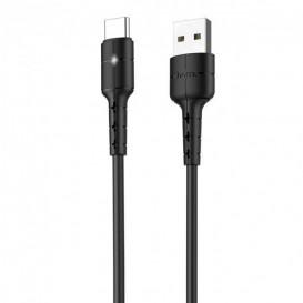 USB дата-кабель Hoco X30 Star Type-C 1,2 метра, черный