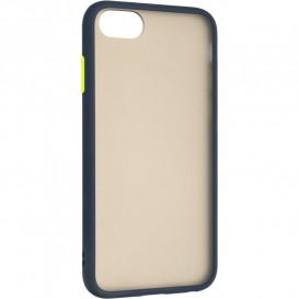 Накладка Gelius Bumper Mat для iPhone 7, iPhone 8  (синего цвета)