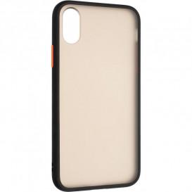 Накладка Gelius Bumper Mat для iPhone X, iPhone XS (черного цвета)