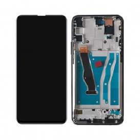 Дисплей Huawei P Smart Z (STK-LX1) с тачскрином и рамкой, черный