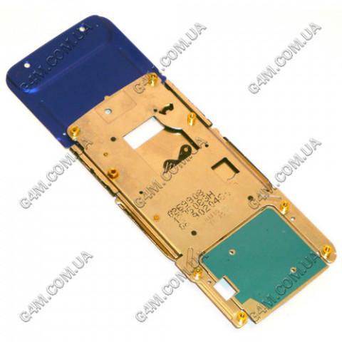 Возвратный механизм Nokia N81 фиолетовый, ОРИГИНАЛ