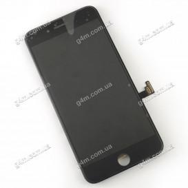 Дисплей Apple iPhone 7 Plus с тачскрином и рамкой, черный, Оригинал