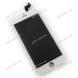Дисплей Apple iPhone 6S с тачскрином и рамкой, белый