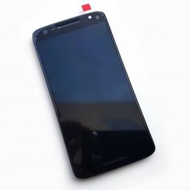 Дисплей для Motorola Moto X Play (XT1562) с тачскрином и рамкой, черный