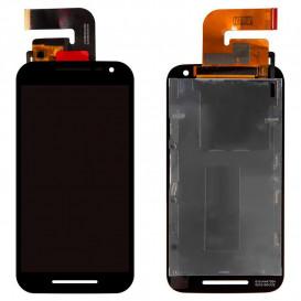 Дисплей для Motorola Moto G3 (XT1540) с тачскрином, черный