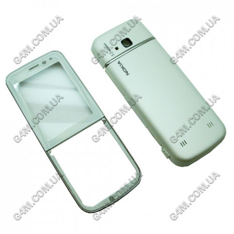 Корпус Nokia 6730 classic белый, High Copy