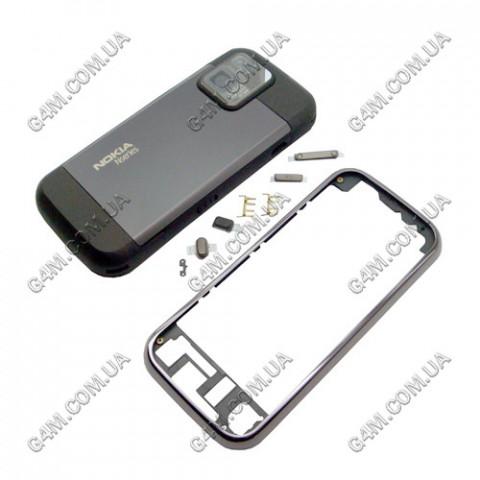 Корпус Nokia N97 mini тёмно-коричневый, High Copy