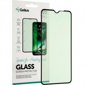 Защитное стекло Gelius Green Life для Xiaomi Redmi Note 8 Pro (3D стекло черного цвета)