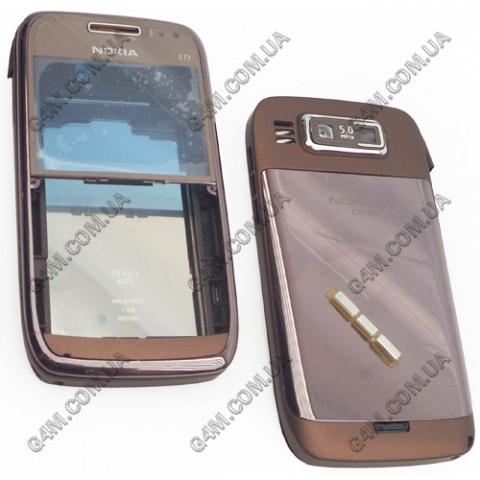 Корпус Nokia E72 бронзовый (High Copy)