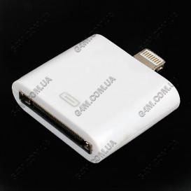 Адаптер для Apple iPhone 5, iPad 4, mini, iPod touch 5, nano 7 (Lightning to 30-pin) Оригинал
