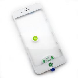 Стекло сенсорного экрана с рамкой и OCA пленкой для Apple iPhone 7 Plus белое