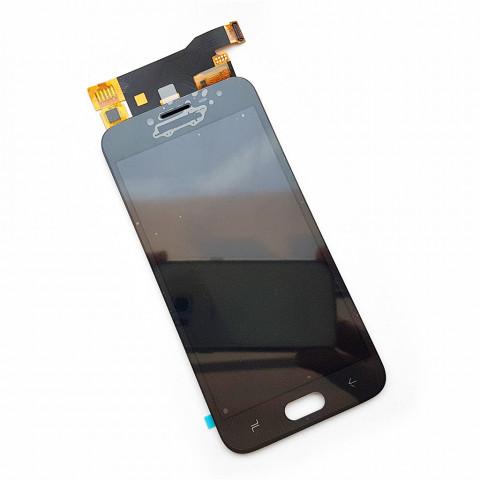 Дисплей Samsung J700F/DS, J700H/DS, J700M/DS Galaxy J7 с тачскрином, золотистый (Оригинал) без клейкой ленты