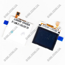 Дисплей Nokia 1600, 1208, 1209, 2126, 2310, 6136 внешний, N71 внешний (Оригинал)
