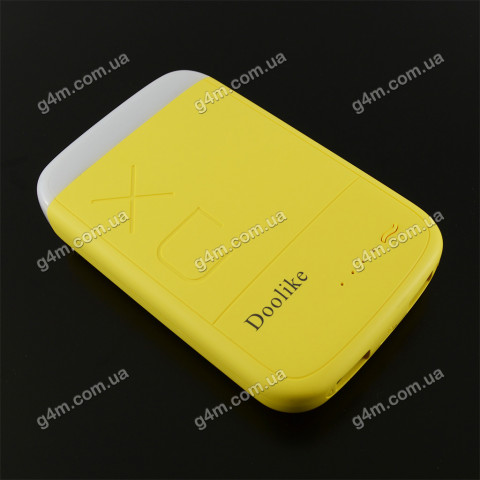 УМБ Power Bank Doolike XD-04 8000 mAh желтая
