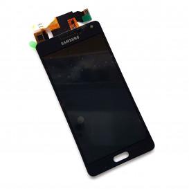 Дисплей Samsung A500F, A500FU, A500H Galaxy A5 с тачскрином, черный, копия