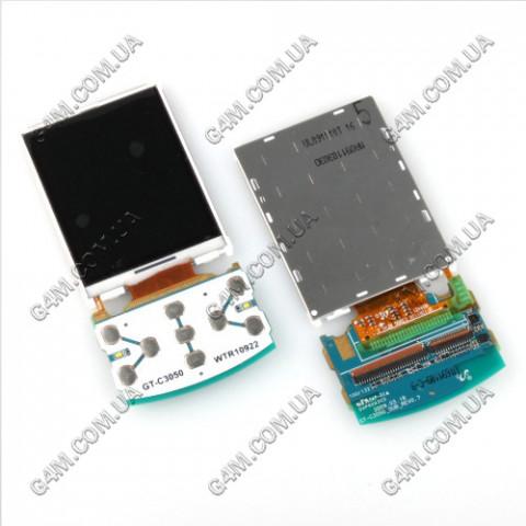Дисплей Samsung C3050 c клавиатурной платой