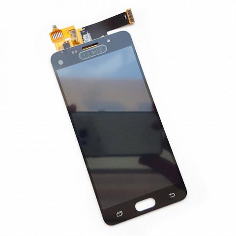 Дисплей Samsung A5100, A510F, A510FD, A510M, A510Y Galaxy A5 (2016) с тачскрином, черный (Оригинал) без клейкой ленты