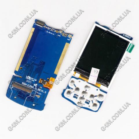 Дисплей Samsung E250D на плате с подложкой (Rev 1.3)