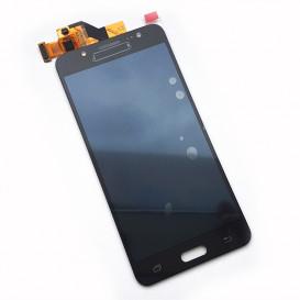 Дисплей Samsung J5108, J510F, J510FN, J510G, J510H, J510M, J510Y Galaxy J5 (2016) с тачскрином, черный с клейкой лентой (копия)