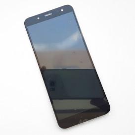 Дисплей Samsung J600 Galaxy J6 (2018 года) с тачскрином, черный, снятый с телефона