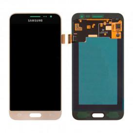 Дисплей Samsung J320A, J320F, J320P, J3109, J320M, J320Y, J320H/DS Galaxy J3 (2016) золотистая копия