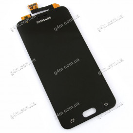 Дисплей Samsung G570 Galaxy On5 (2016), G570F/DS Galaxy J5 Prime с тачскрином, черный, снятый с телефона